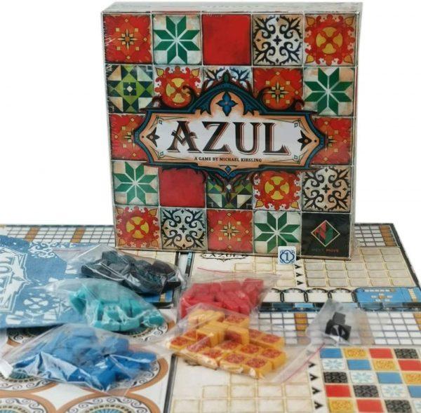 Azul - Jeu de société Bilingue Français/anglais