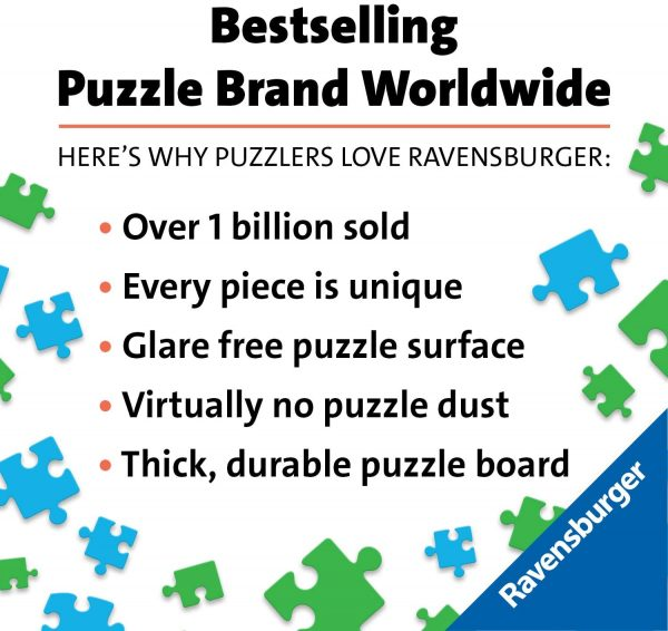 Ravensburger Toit de jardin – Puzzle de 500 pièces