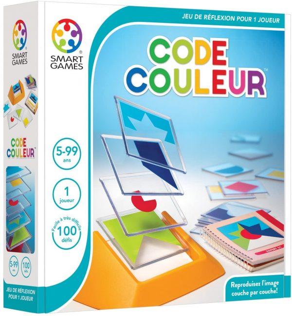 Code couleur - jeu de réflexion - 5 ans et plus