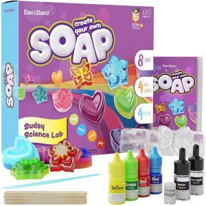Kit de fabrication de savon pour enfants – Projet de science du bain