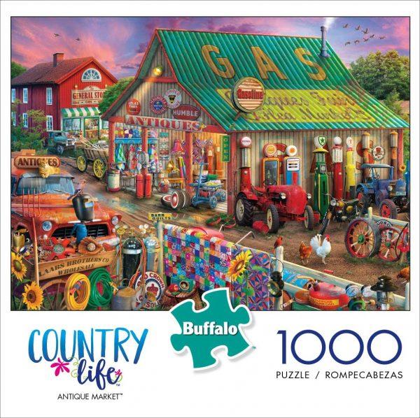 Marché antique – Puzzle de 1000 pièces.