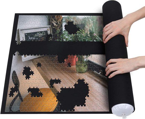 Lavievert Tapis de rangement pour puzzle - Matériau respectueux de l'environnement