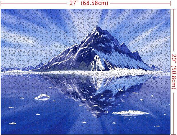 Casse-tête Glacier - 1000 pièces - 68,6 x 50,8 cm
